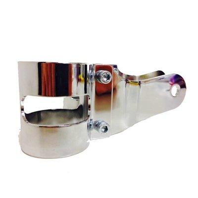 Shin Yo Pair of 38 - 42mm Headlight Brackets Chrome