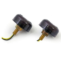 LED-Blinker MICRO DISC Smoke