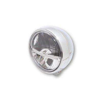 Highsider 5 3/4 inch LED main Koplamp Jackson Chroom