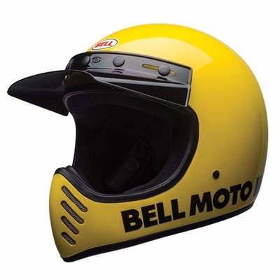 Bell Moto-3 Classic Gelb