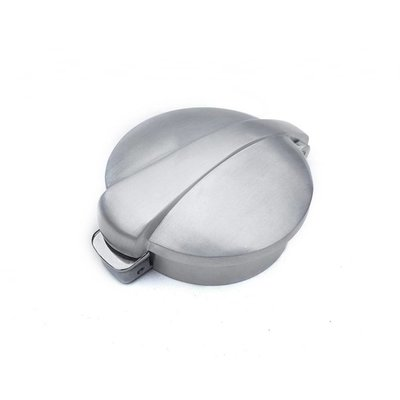 "Motone Monza Flip Up Gas Tank Cap 2.5""/62mm - Brushed"