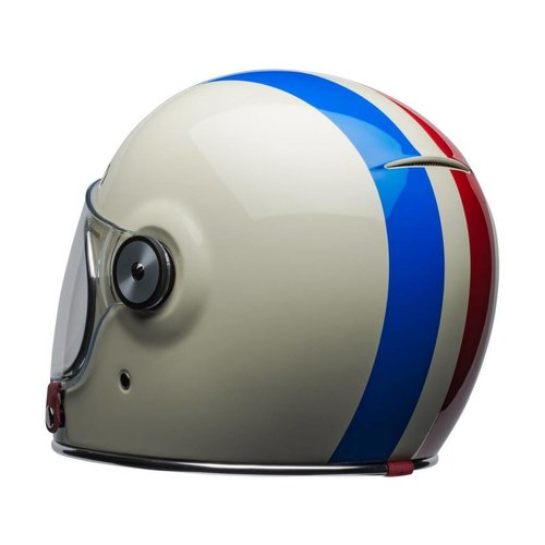 Bell Bullitt DLX Helm Command Gloss Vintage Weiß / Rot / Blau