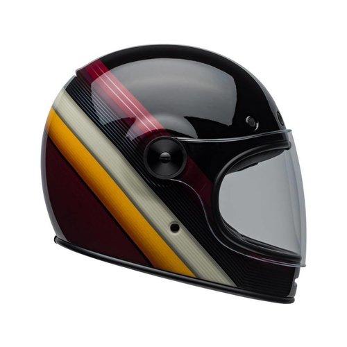 Bell Bullitt DLX Helm Burnout Gloss Zwart / Wit / Kastanjebruin