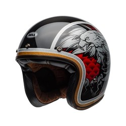 Custom 500 Carbon Helm Osprey Gloss Schwarz / Gelb