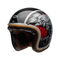 Custom 500 Carbon Helm Osprey Gloss Zwart / Geel