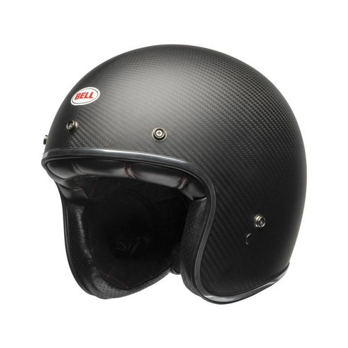 Bell Custom 500 Carbon Helm Carbon Matte