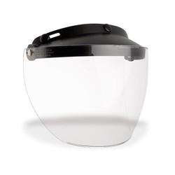 Custom 500 3-Snap Flip Shield Clear