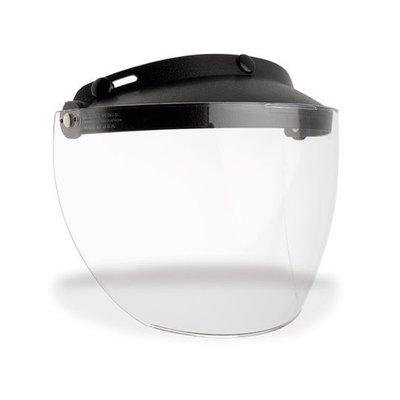 Bell Custom 500 3-Snap Flip Shield Clear