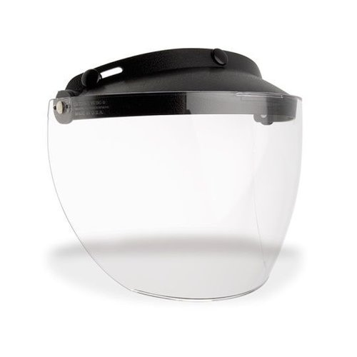 Bell Custom 500 3-Snap Flip Shield Durchsichtig