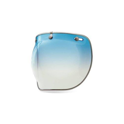 Bell Bubble Shield Ice Blue Custom 500 Deluxe
