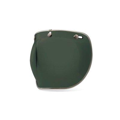 Bell Bubble Shield Wayfarer Green Custom 500 Deluxe