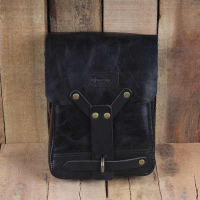 Trip Machine Thigh Bag - Black