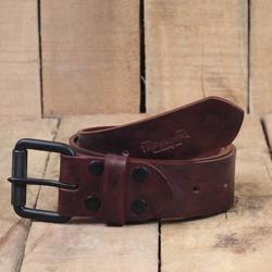 Belt - Cherry Red Single Pin