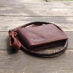 Wallet Chestnut Lucy