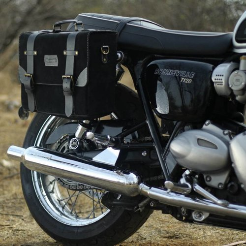 Trip Machine Hybride Zadeltas - Zwart + Zwart