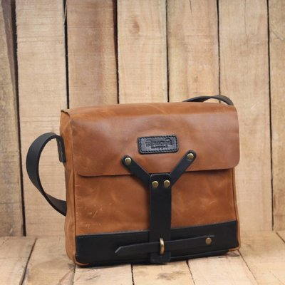 Trip Machine Messenger Bag - Tan