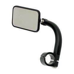 "Rechthoek Utility Mirror Clamp-On-1 ""Zwart"