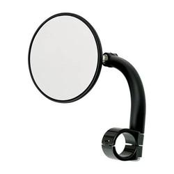 """Miroir rond utilitaire pince-1 """"noir"""