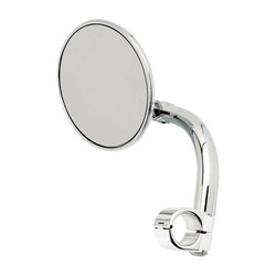 "Round Utility Mirror Clamp-On-1"" Chrome"
