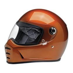 Lane Splitter Helmet Gloss Copper ECE Approved
