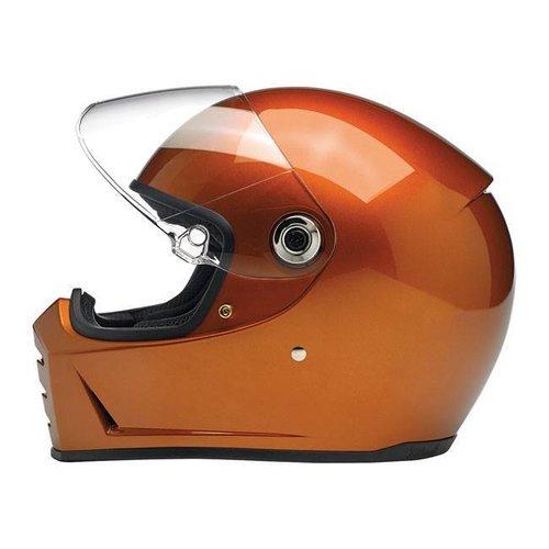 Biltwell Lane Splitter Helme Gloss Copper ECE Approved
