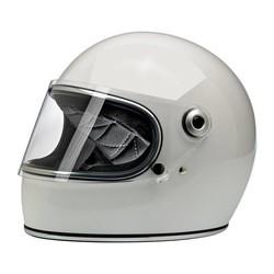 Gringo S helm Gloss White ECE goedgekeurd
