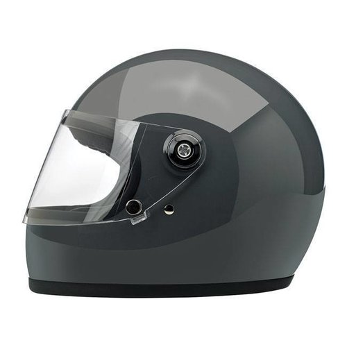 Biltwell Gringo S Helme  Gloss Storm Grey ECE Approved