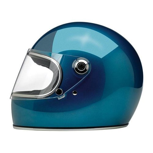 Biltwell Gringo S Helme  Gloss Pacific Blue ECE Approved
