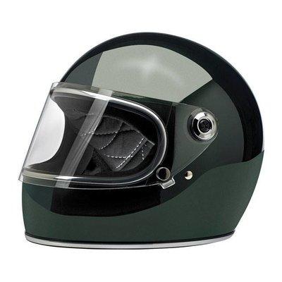 Biltwell Gringo S Helmet  Gloss Sierra Green ECE Approved
