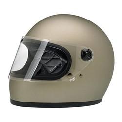 Gringo S helm Flat Titanium ECE goedgekeurd