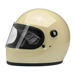 Gringo S Helmet Gloss Vintage White ECE Approved