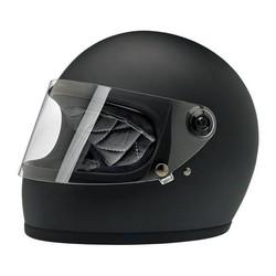 Gringo S Helme Flat Black  ECE Approved