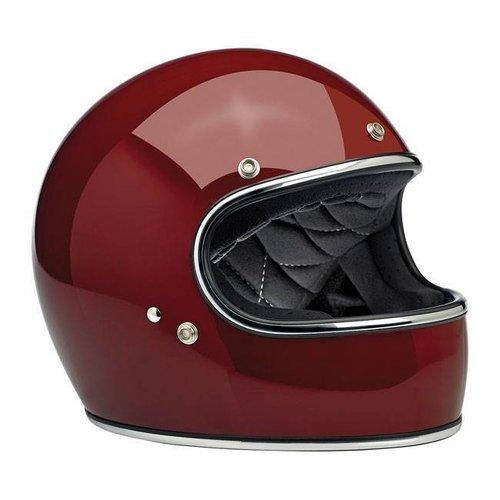 Biltwell Gringo helm Gloss Garnet ECE goedgekeurd