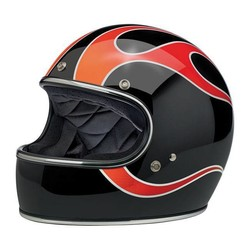 Gringo helm  Dice Flames ECE goedgekeurd