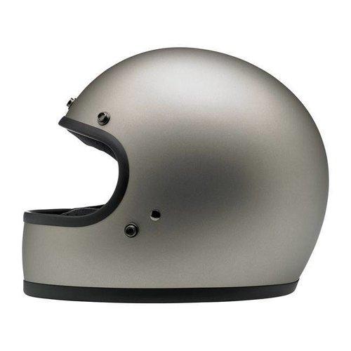 Biltwell Gringo Helme Flat Titanium ECE Approved