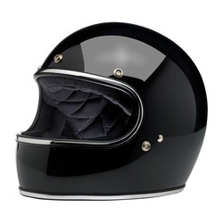 Gringo Helme Gloss Black ECE Approved