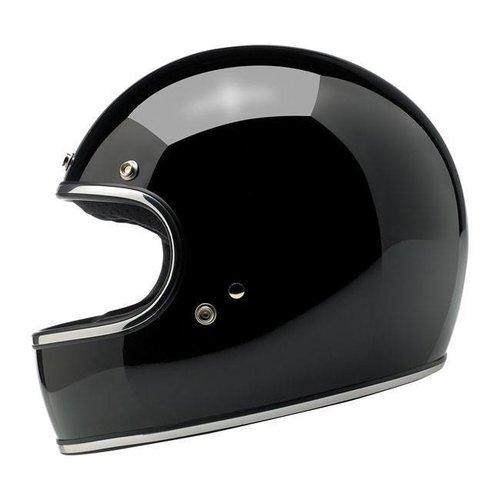 Biltwell Gringo helm Gloss Black ECE goedgekeurd
