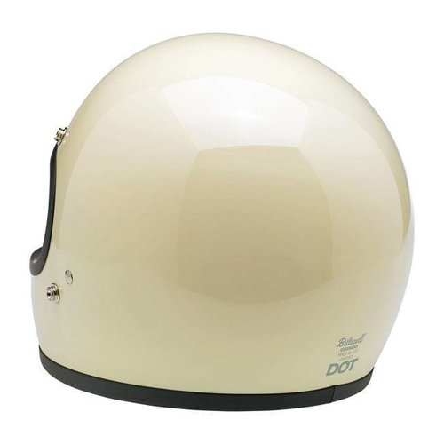 Biltwell Gringo Helme Gloss Vintage White ECE Approved