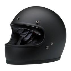 Gringo Helmet Flat Black ECE Approved