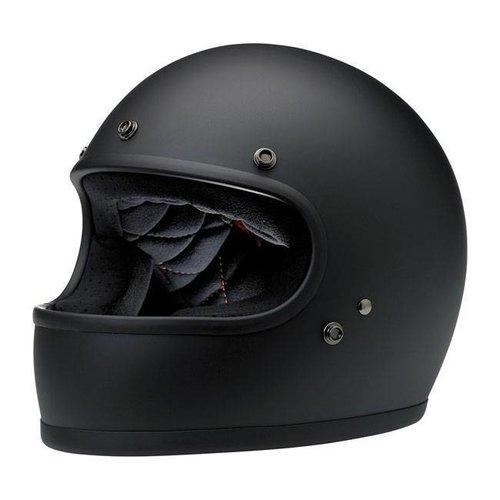Biltwell Gringo Helme Flat Black ECE Approved