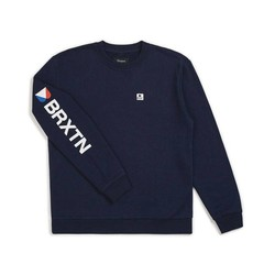 Stowell II CrewNeck Pullover Navy