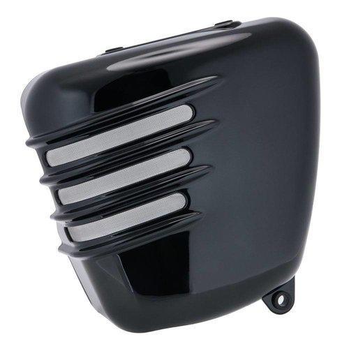 Motone Gerippte Seitenwände - Gloss Black - SET