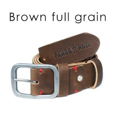Pando Moto Full Grain Leather Belt