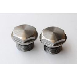 BMW Fork Nut 36mm - Original - Stainless Steel