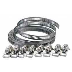 Hose Clamp Universal Kit 8Mm X 300Cm Inox