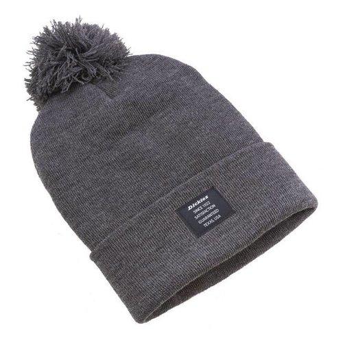 Dickies Edgeworth Bobble Mütze grau