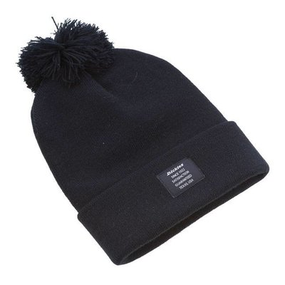 Dickies Edgeworth Bobble hat Black
