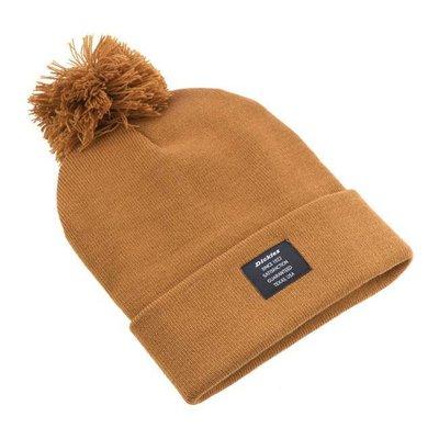Dickies Edgeworth Bobble hat brown