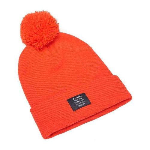 Dickies Edgeworth Bobble Mütze orange