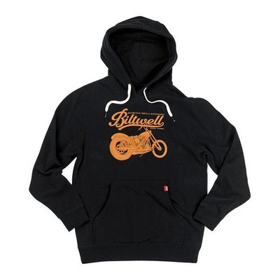Biltwell Script hoodie zwart